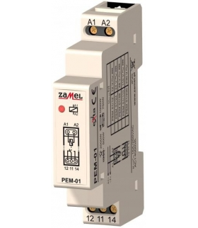 PRZEKAŹNIK ELEKTROMAGNETYCZNY PEM-01/110 110V AC/DC