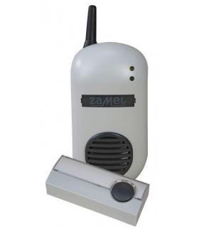 Dzwonek bezprzewodowy BULIK z przyciskiem hermetycznym 100mb