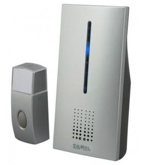 Dzwonek bezprzewodowy bateryjny BRILLO z sygnalizacją optyczną