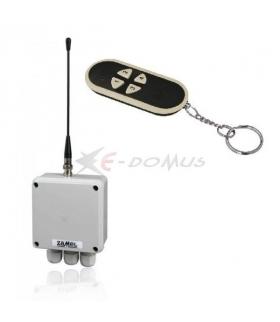 Radiowy wyłącznik sieciowy dwukanałowy Z PILOTEM RWS-211D/N
