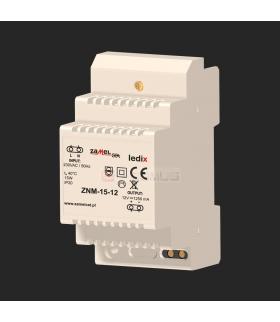 Zasilacz LED 12V DC 15W do rozdzielni
