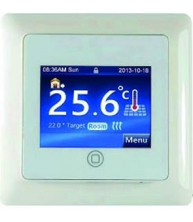 Regulator Temperatury RTD-01 podtynkowy ,kolorowy ekran dotykowy
