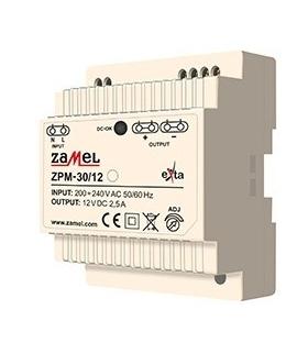 ZASILACZ IMPULSOWY ZPM-30/12 30W 12V DC