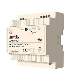 ZASILACZ IMPULSOWY ZPM-60/24 60W 230V/24V DC