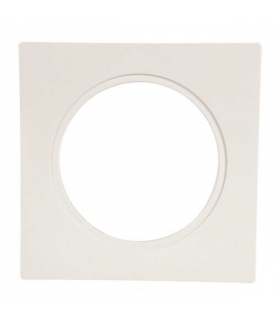Ramka LED KONEKTO kwadratowa biała LSR-BK-X1