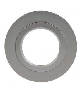 Ramka LED KONEKTO okrągła srebrna LSR-SO-X1