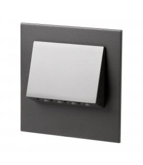 Oprawa LED NAVI z ramką NT 14V DC CZARNA - biała ciepła