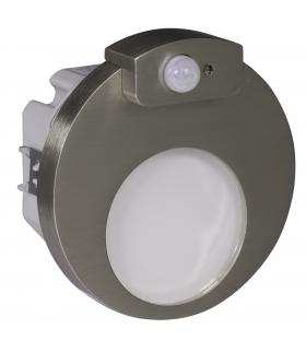 Oprawa LED MUNA Z CZUJNIKIEM PT 14V DC STAL - biała zimna