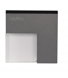 Oprawa LED TICO NT 14V DC GRAFIT- biała zimna