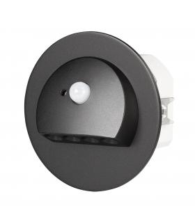 Oprawa LED RUBI PT 14V DC z czujnikiem ruchu CZARNA - biała zimna
