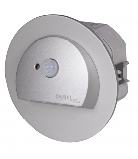 Oprawa LED RUBI PT 230V AC z czujnikiem ruchu ALUMINIUM - biała zimna