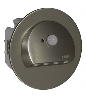 Oprawa LED RUBI PT 230V AC z czujnikiem ruchu STAL - biała zimna