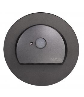 Oprawa LED RUBI PT 230V AC z czujnikiem ruchu GRAFIT - biała zimna