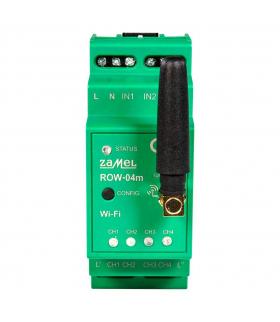 Modułowy 4-kanałowy odbiornik wi-fi ROW-04M SUPLA