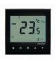 Regulator temperatury dotykowy podtynkowy - programowalny sonda 2,5m CZARNY