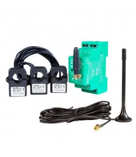 Monitor energii elektrycznej WiFi 3F+N z anteną zewnętrzną MEW-01/ANT