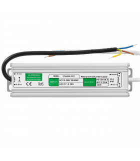Zasilacz LED slim 12V DC / 30W ZAH-30-12