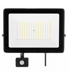 Naświetlacz LED SOLIS 150W PIR 230V IP44 barwa biała neutralna TYP: NAS-150WNPIR